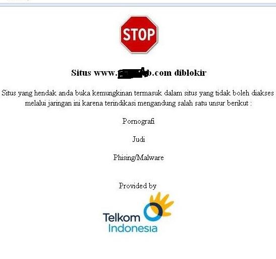 Cara Membuka Situs Yang Diblokir Telkom/ISP Lainnya